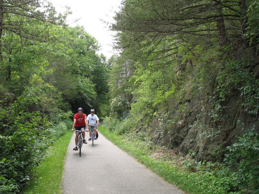 Root River Trail near Lanesboro